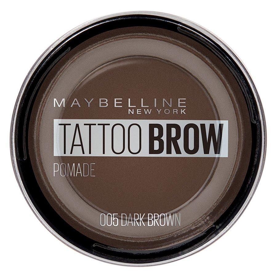 Maybelline Tattoo Brow Pomade Pot, Dark Brown