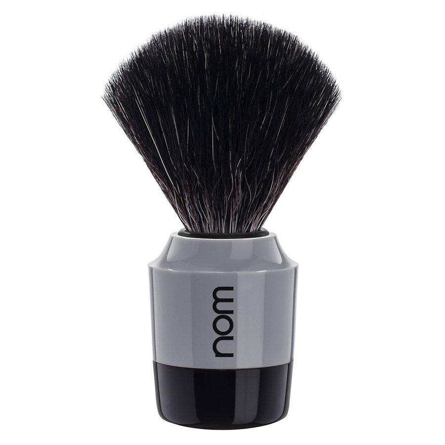 After Marten Shaving Brush Black Fiber Black Gray
