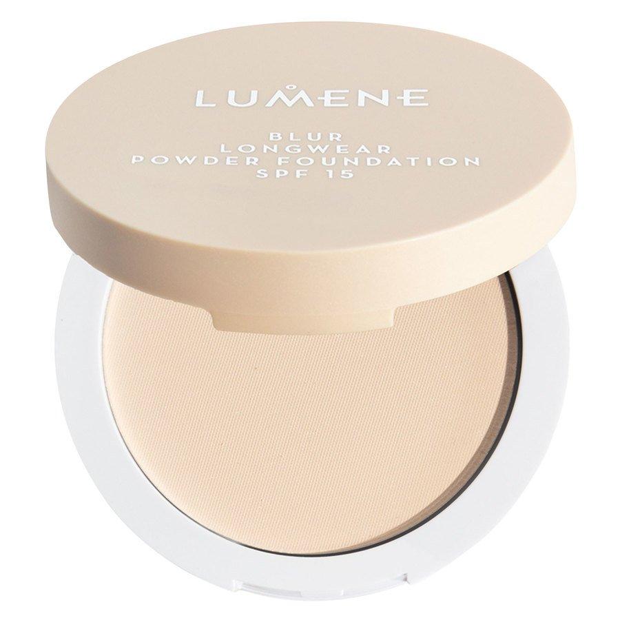 Lumene Blur Longwear Powder Foundation SPF15, Classic Beige 10g