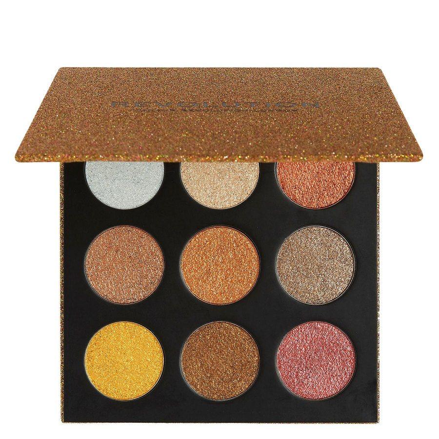 Makeup Revolution Euphoric Foil Eyeshadow Palette Sparkle Up (18,9 g)