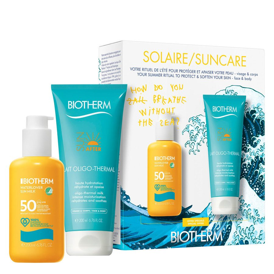 Biotherm Summer Waterlover Sun SPF50 Coco Capitán Limited Edition Set