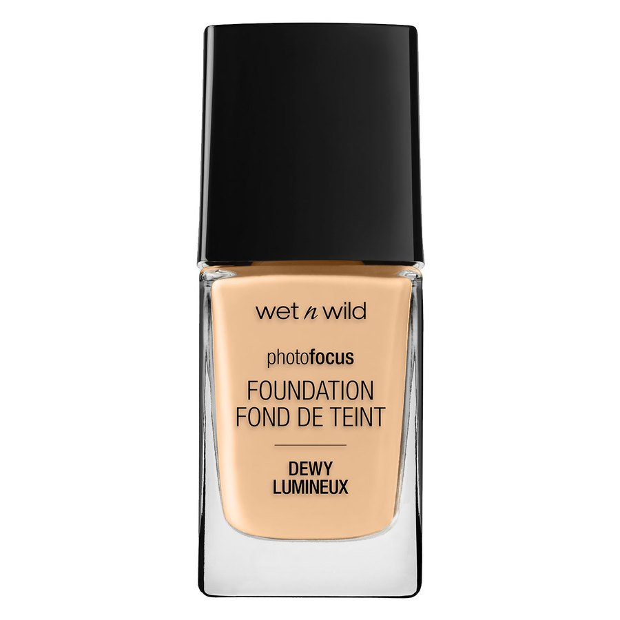 Wet'n Wild Photo Focus Dewy Foundation, Soft Beige (28 ml)
