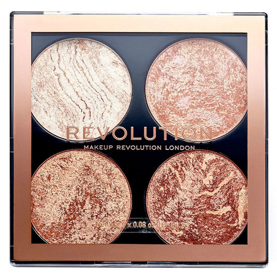 Makeup Revolution Cheek Kit Palette, Don't Hold Back (8,8 g)