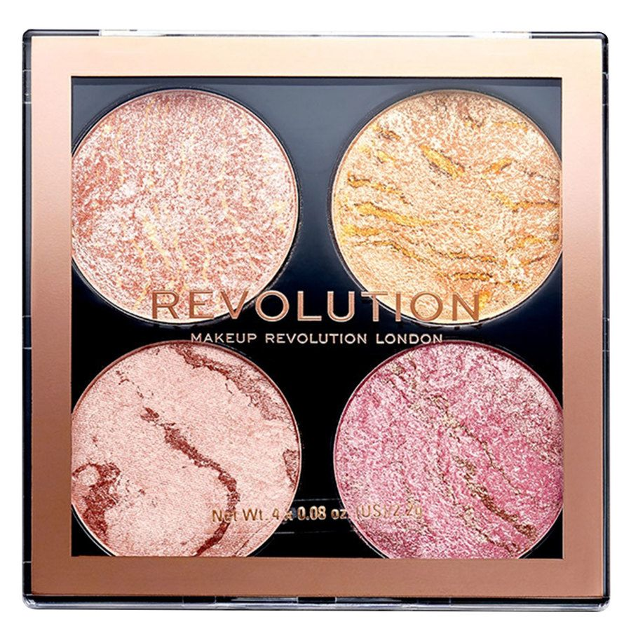 Makeup Revolution Cheek Kit Palette, Fresh Perspective (8,8g)
