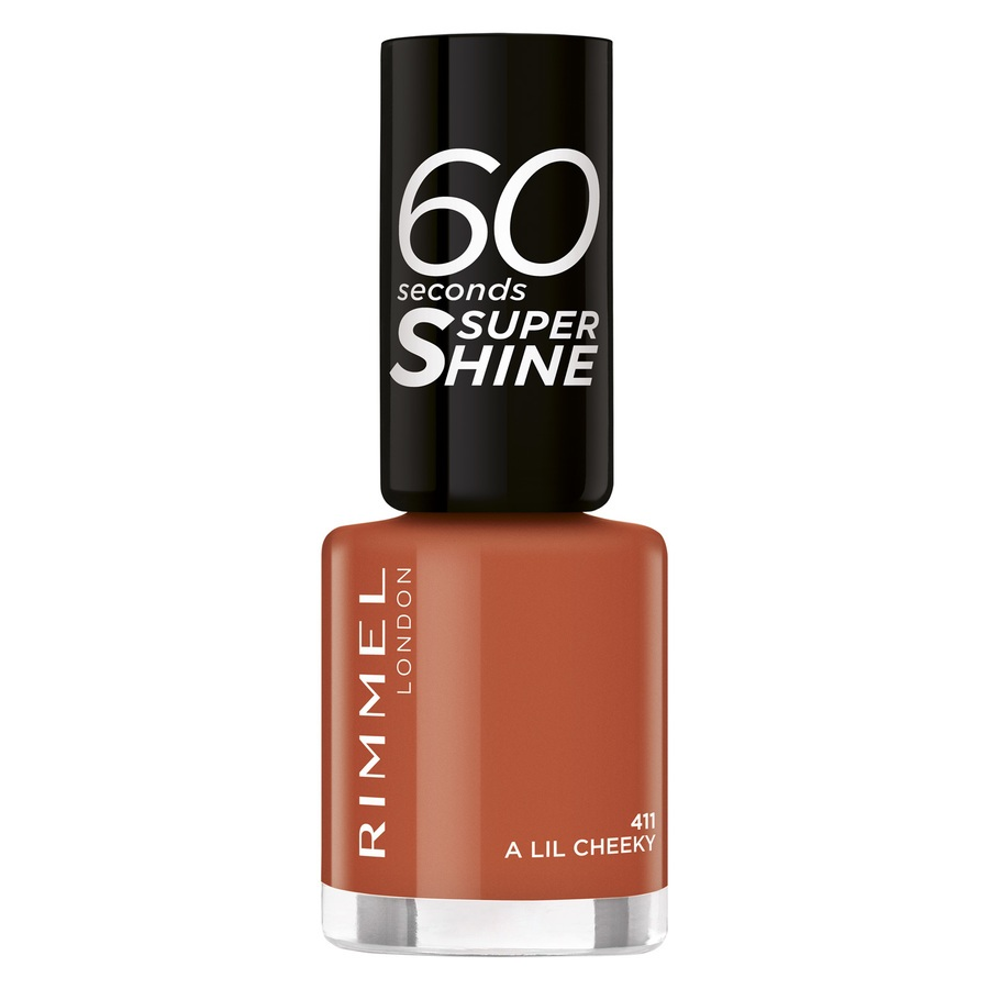 Rimmel London 60 Seconds Super Shine, 411 (8 ml)