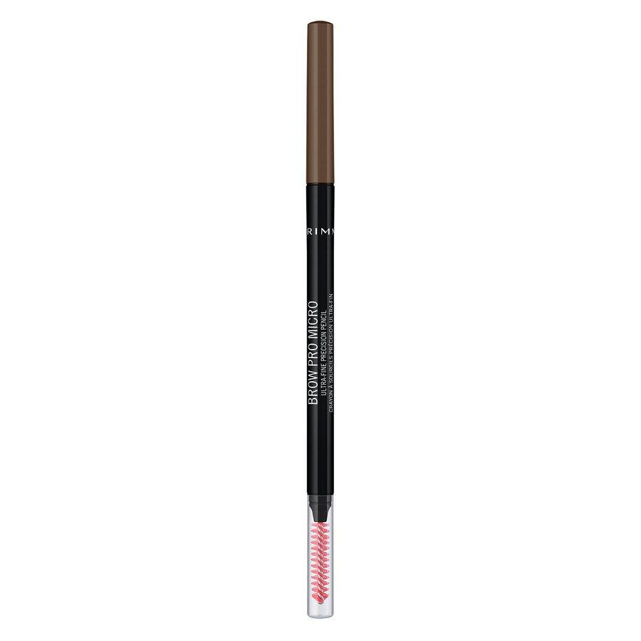 Rimmel London Brow Pro Micro Ultra-Fine Precision Pencil, #002 Brown (0,9 g)