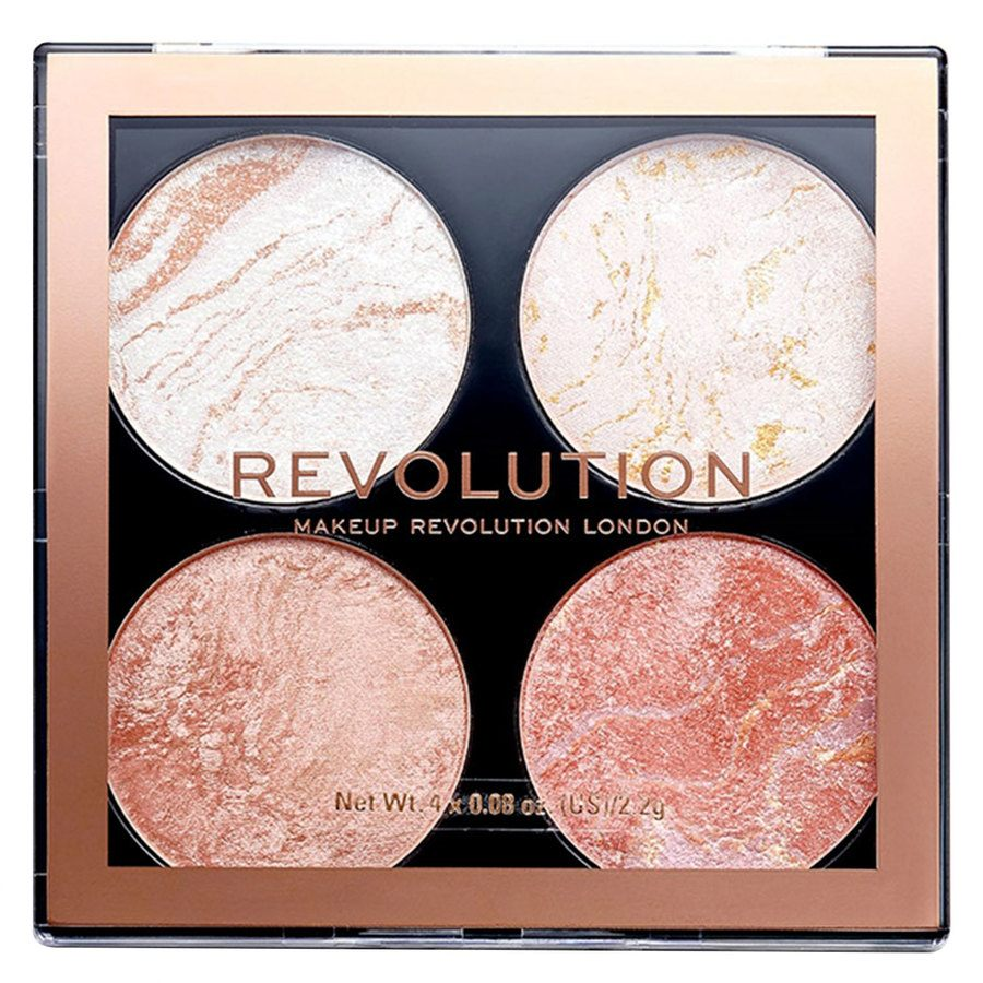 Makeup Revolution Cheek Kit Palette, Take A Breather (8,8 g)
