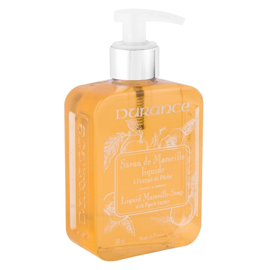 Durance Liquid Marseille Soap, With Peach And Basil (300 ml)