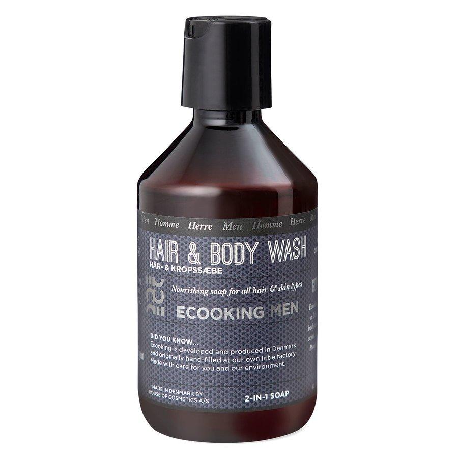 Ecooking Men Hair & Body Wash 250 ml