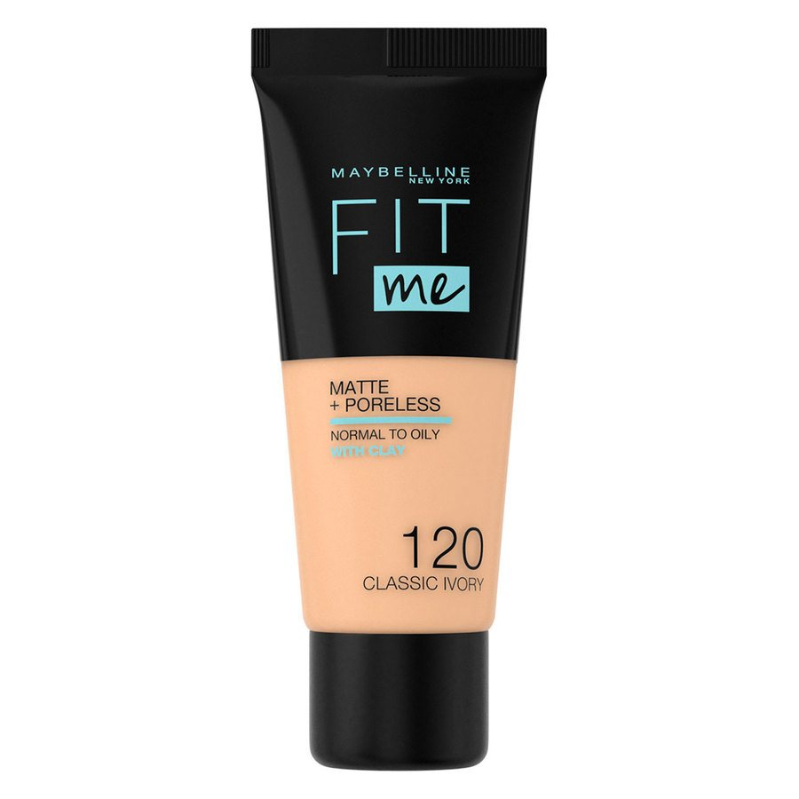 Maybelline Fit Me Liquid Foundation Classic Ivory 120 Normal To Oily 30ml