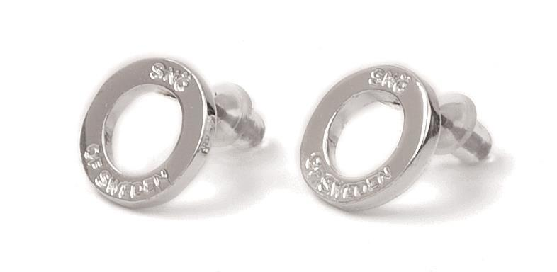 Snö Of Sweden Hege Small Earring, Silver