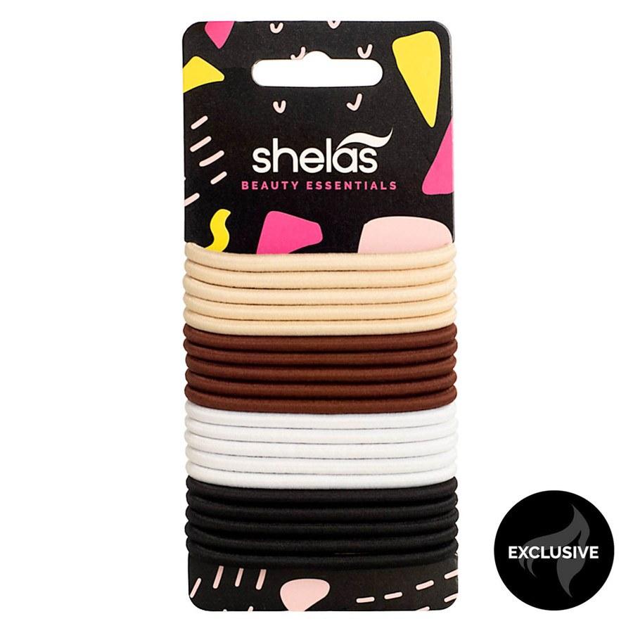 Shelas elastischer Haargummi (20 Stück)