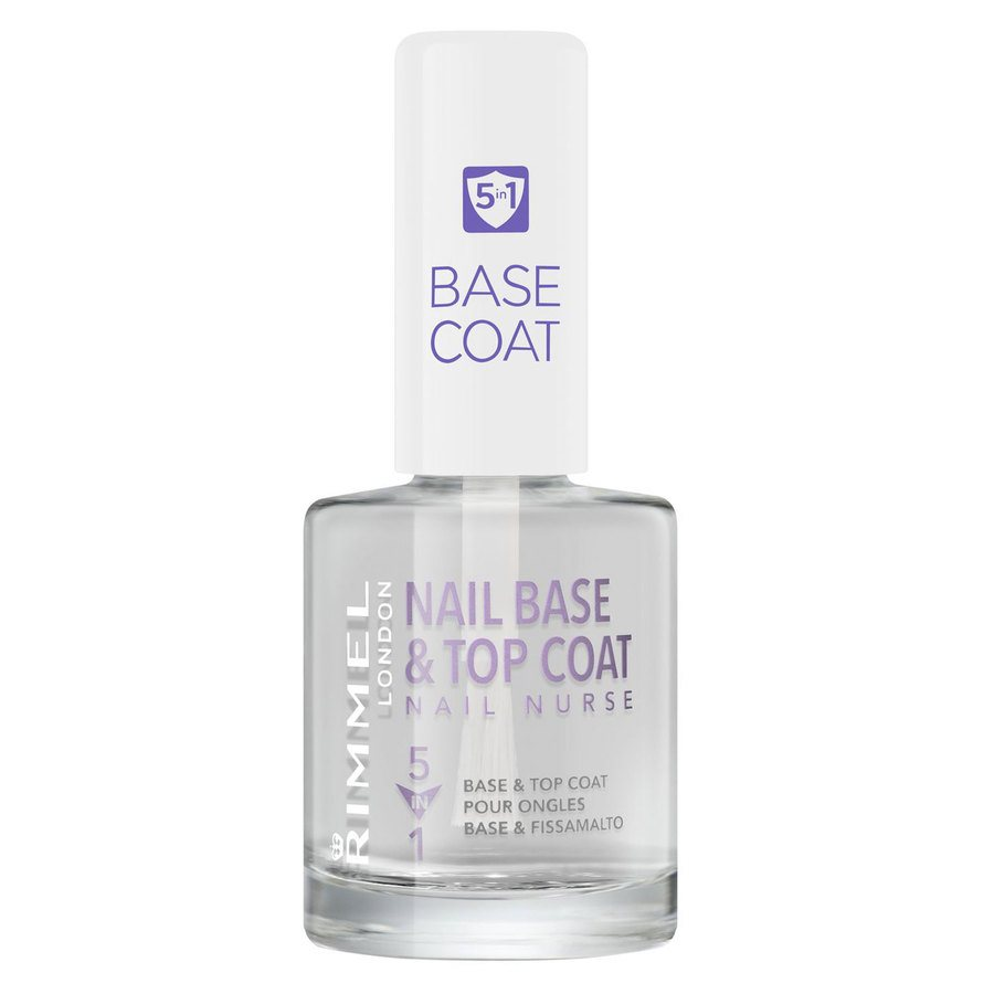 Rimmel London 5In1 Nail Nurse Base And Top Coat (12 ml)