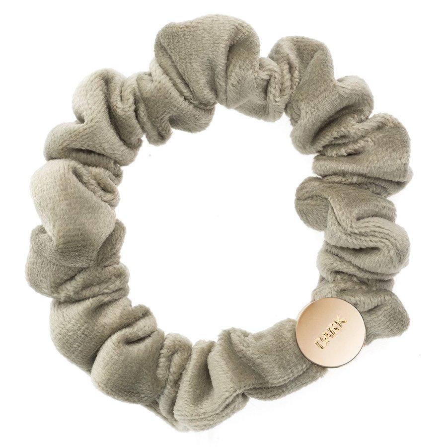 DARK Velvet Mini Scrunchie, Faded Army