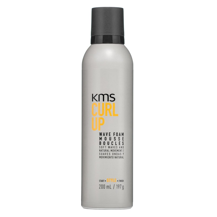 Kms CurlUp Wave Foam Mousse (200 ml)