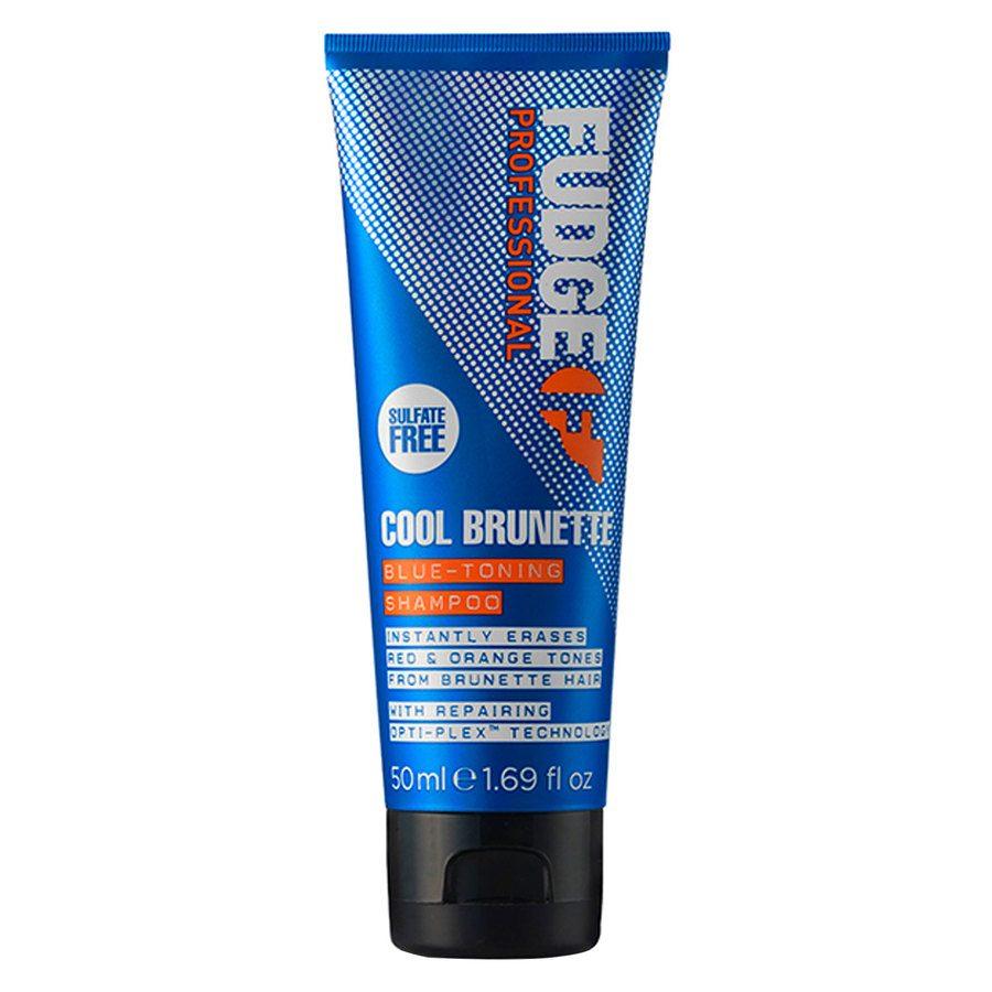 Fudge Cool Brunette Blue Toning Shampoo (50 ml)