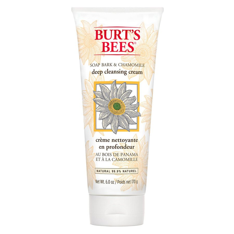 Burt's Bees Soap Bark & Chamomile Deep Cleansing Cream (170 g)