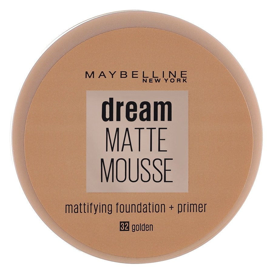 Maybelline Dream Matte Mousse Foundation, Golden