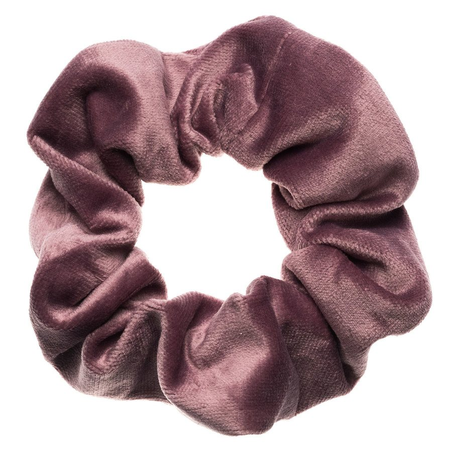 DARK Velvet Scrunchie, Dusty Grape