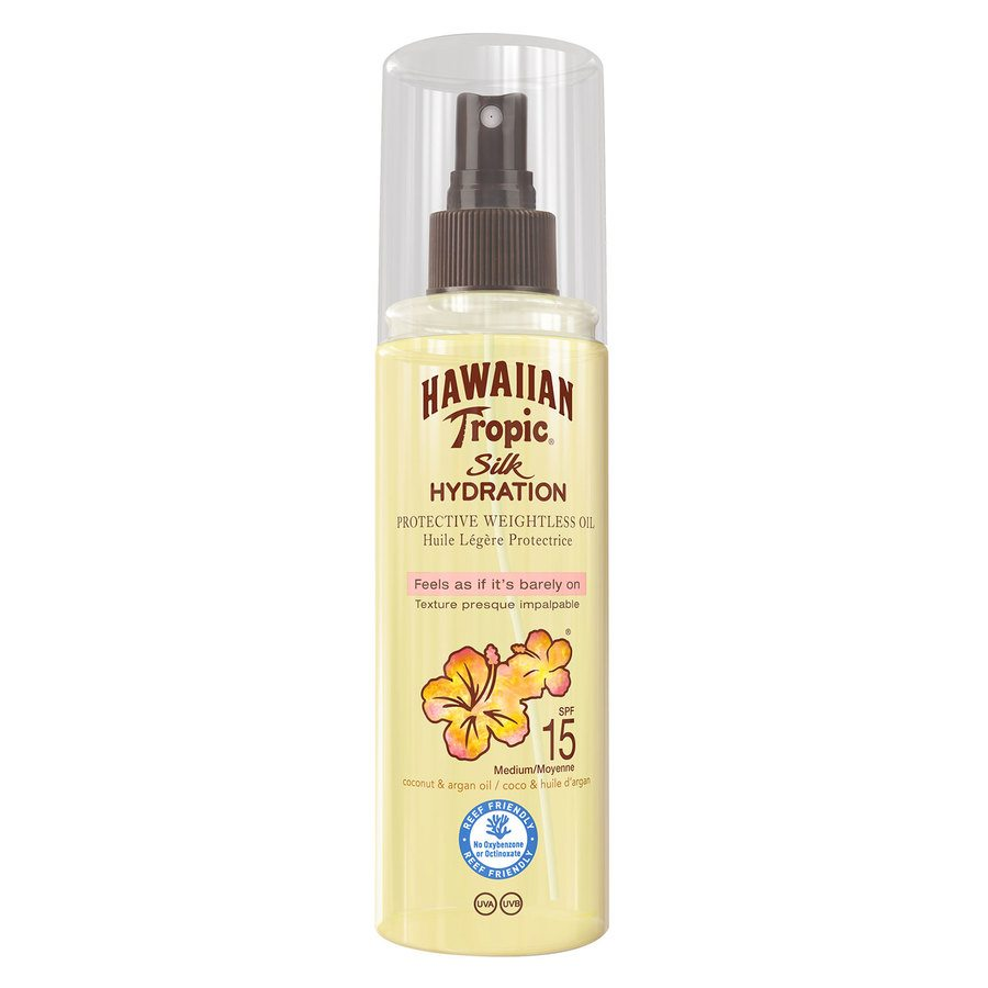 Hawaiian Tropic Silk Hydration Dry Oil Mist SPF15 150 ml