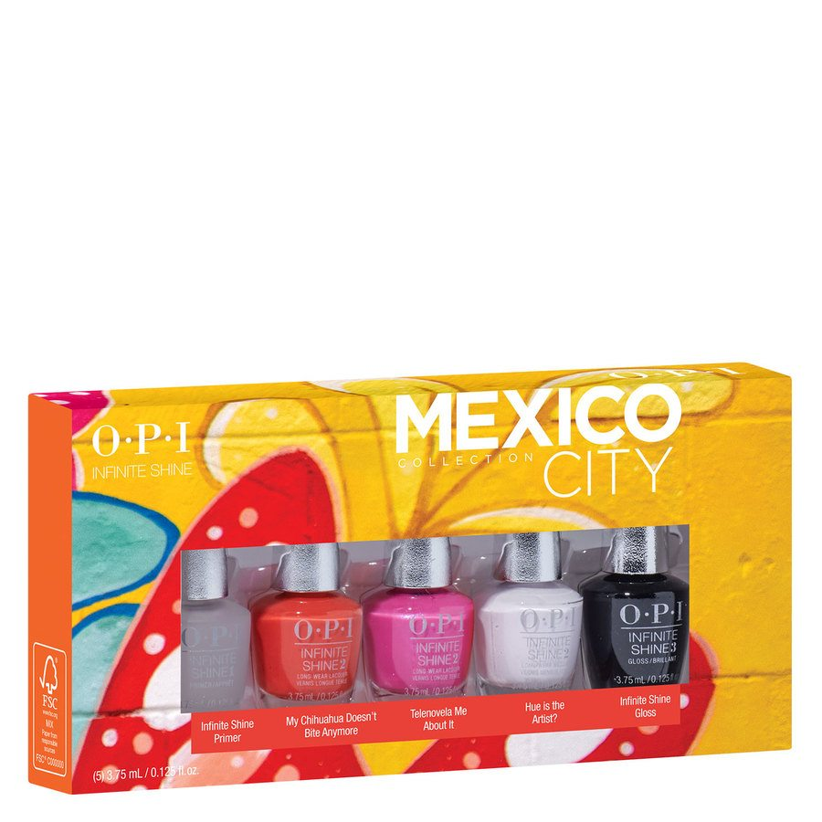 OPI Mexico City Infinite Shine Mini (5 Stück x 3,75 ml)