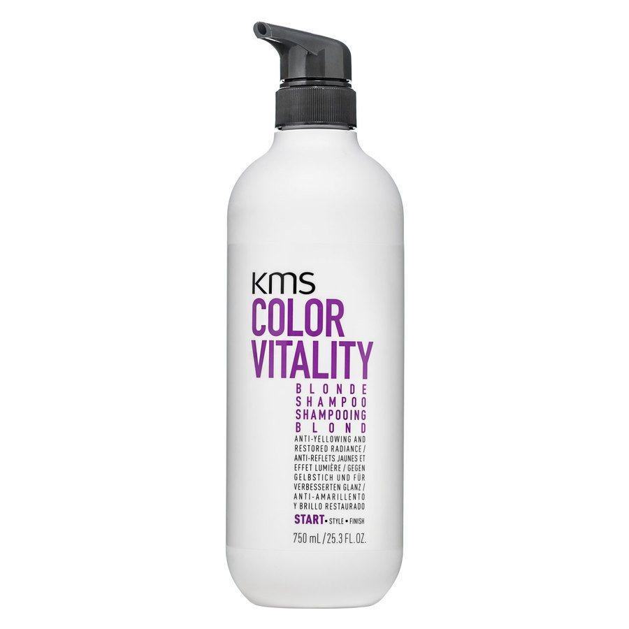 Kms Color Vitality Blonde Shampoo (750 ml)