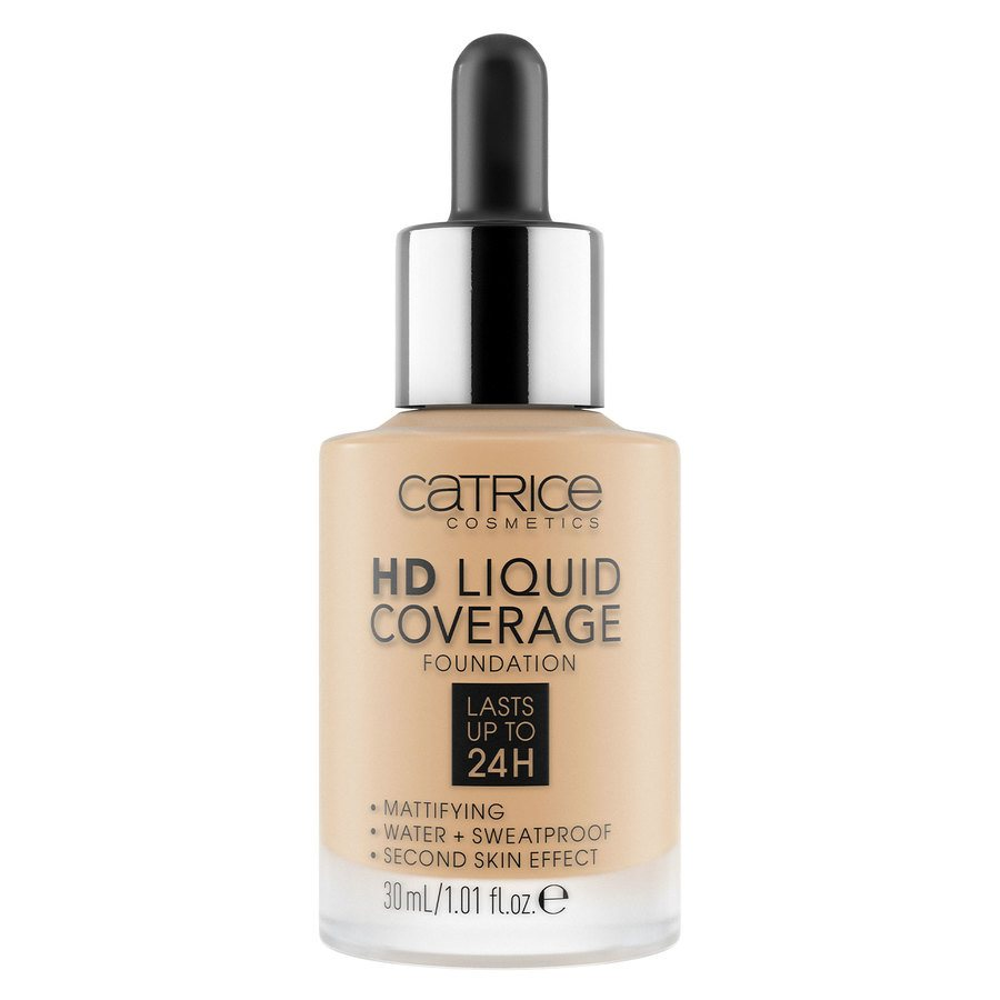 Catrice HD Liquid Coverage Foundation, 038 Honey Beige 30 ml