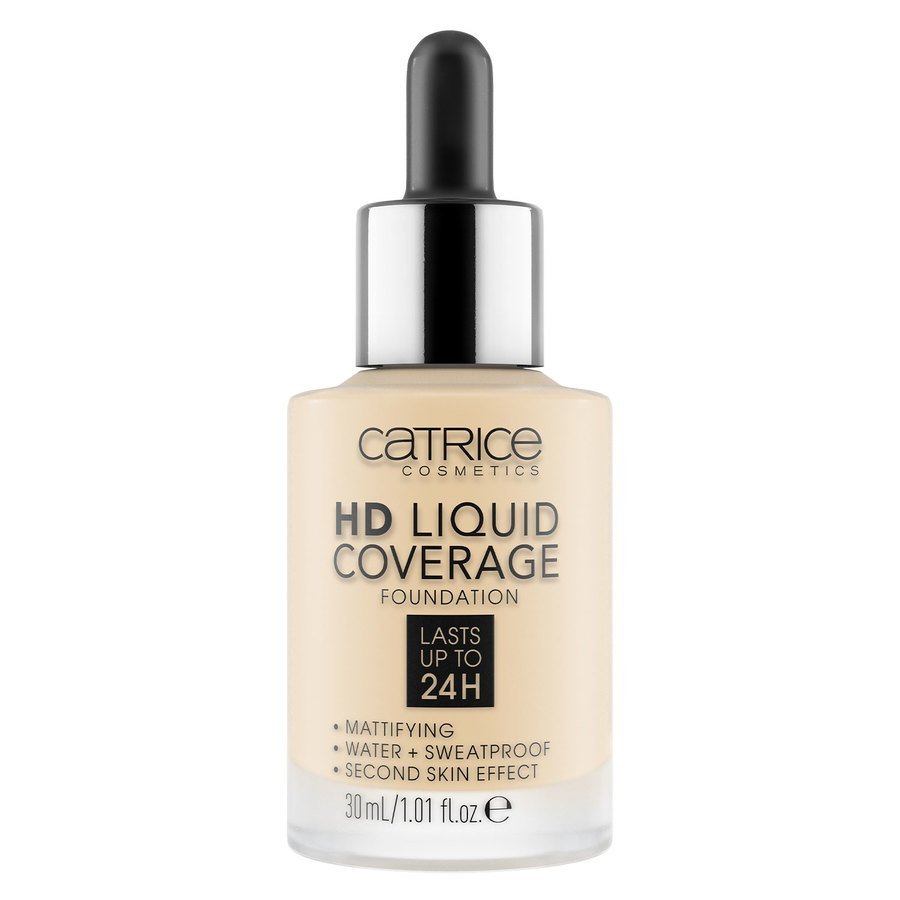 Catrice HD Liquid Coverage Foundation, 002 Porcelain Beige 30 ml