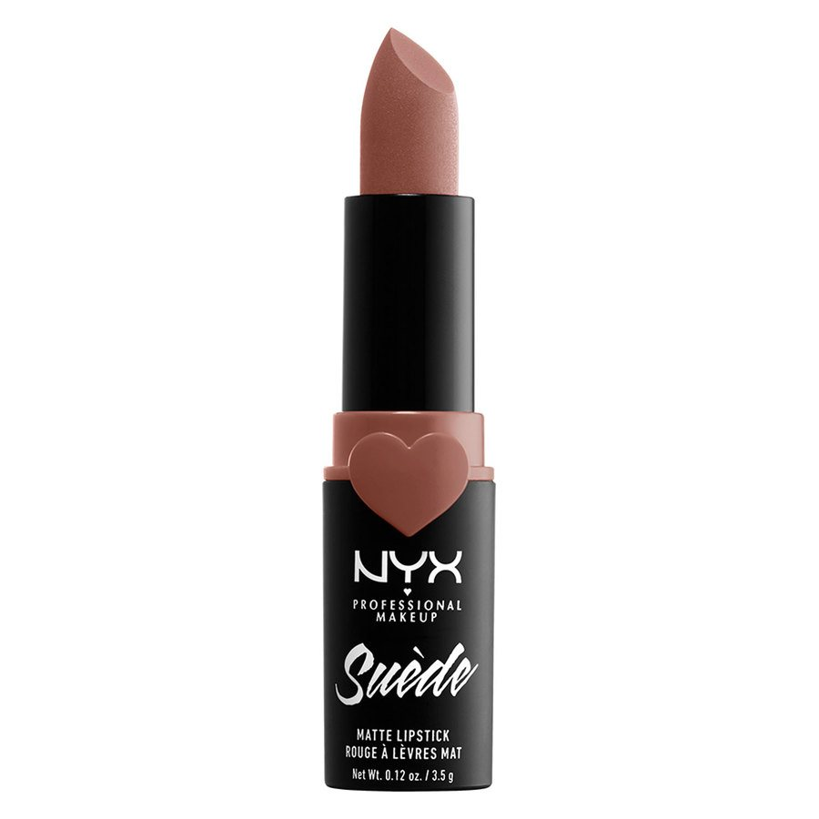 NYX Professional Makeup Suede Matte Lipstick, Shade 02 Nude (3,5 g)