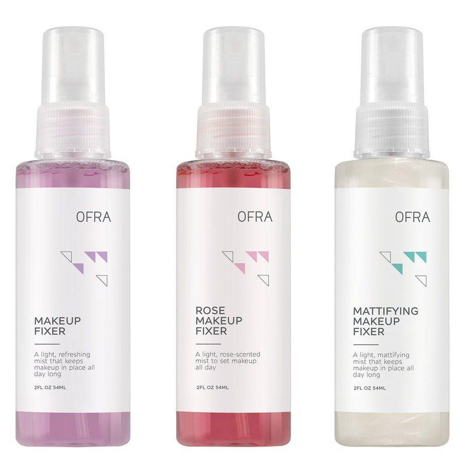 Ofra All Set Mini Makeup Fixer Trio Setting Spray (3 x 54 ml)