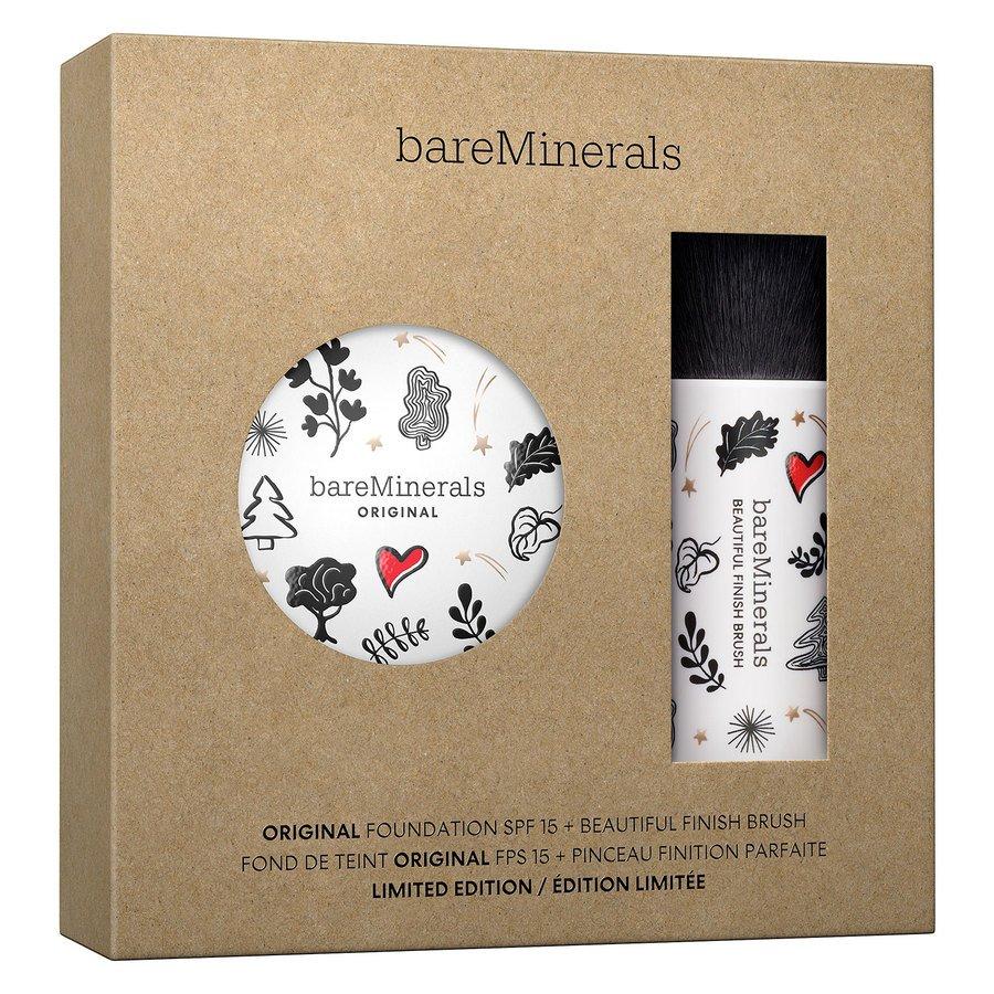 bareMinerals Original Foundation + Brush Kit Fairly Light