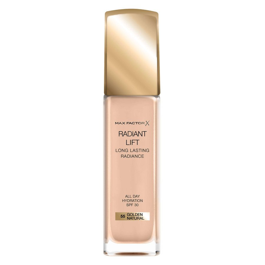 Max Factor Radiant Lift Foundation, #55 Golden Natural (30 ml)