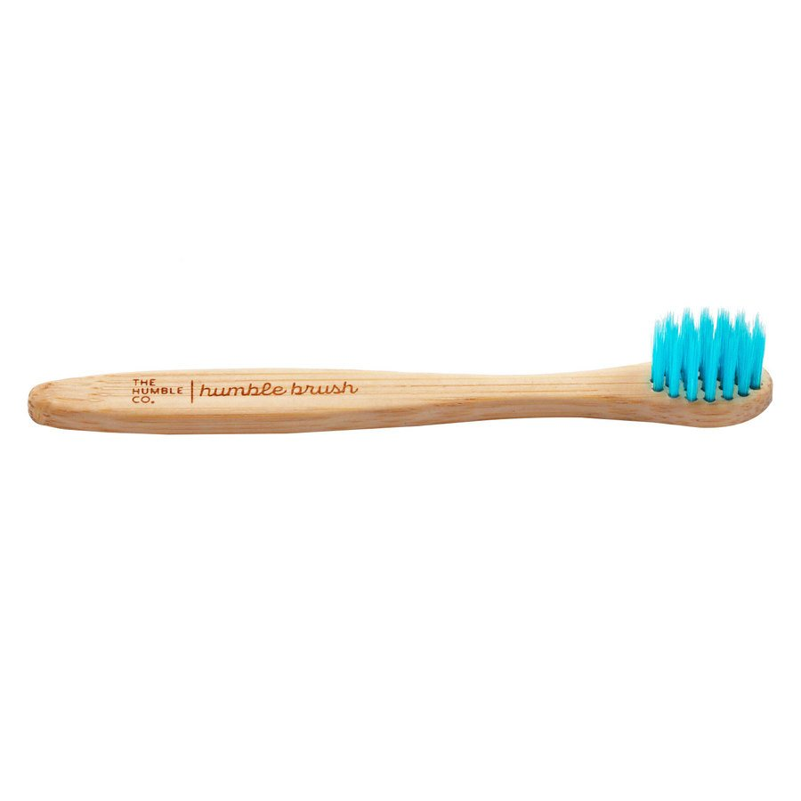 The Humble Co Humble Brush Baby, Blue Supersoft