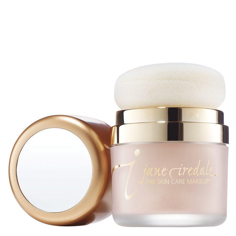 Jane Iredale Powder Me Dry Sunscreen Sonnenschutz-Puder mit LSF 30, Transparent (17,5 g)