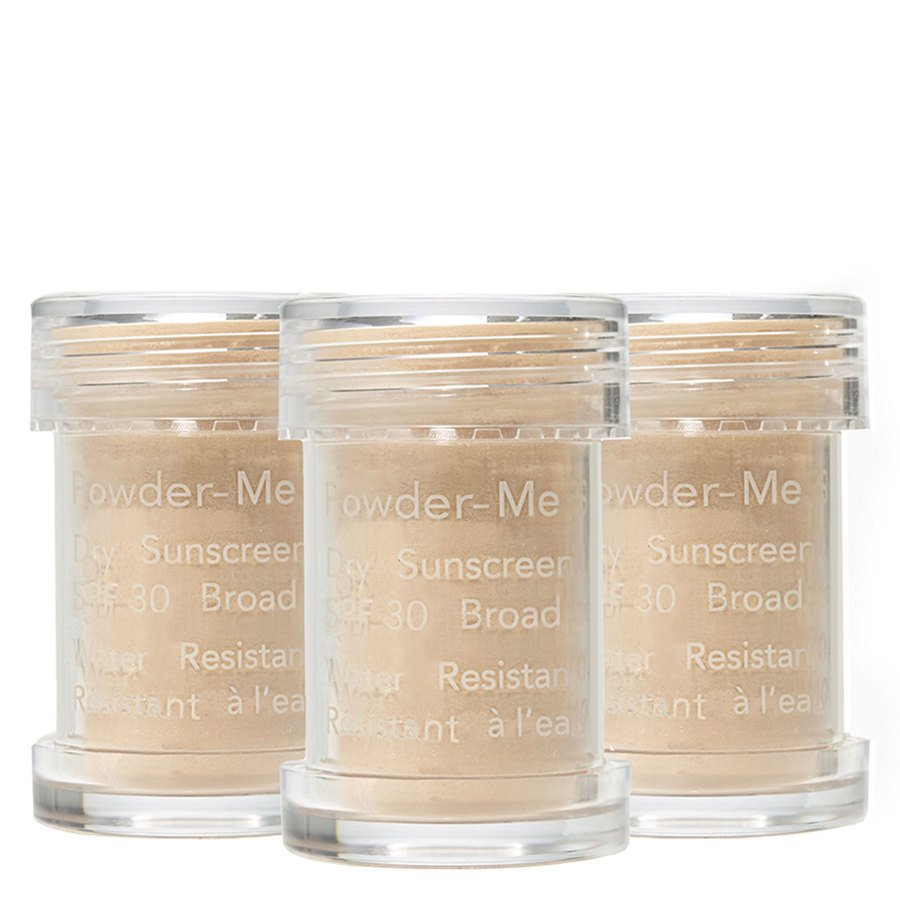 Jane Iredale Powder-Me SPF30 Dry Sunscreen Refill Nude, 3 x 2.5g
