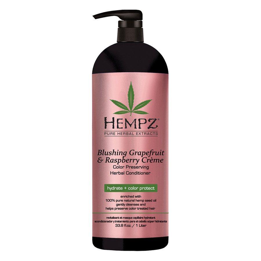 Hempz Blushing Grapefruit & Raspberry Crème Conditioner (1000ml)