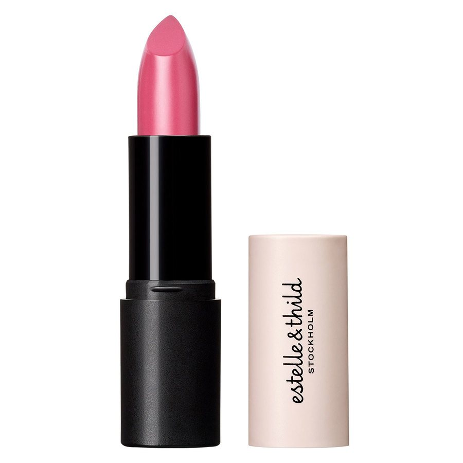 Estelle & Thild BioMineral Cream Lipstick, Deep Pink (4,5 g)