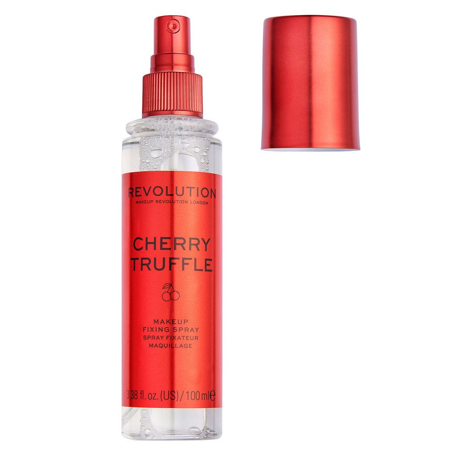 Makeup Revolution Precious Stone Fixing Spray, Cherry Truffle (100ml)