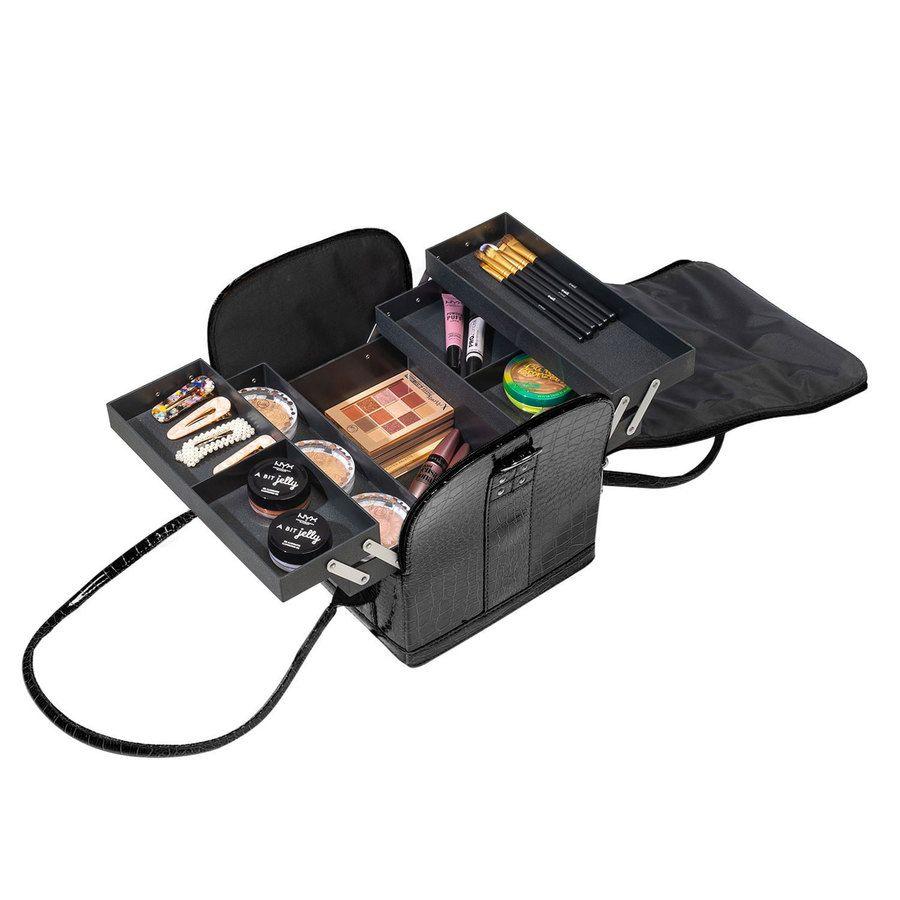 Shelas Makeup Case, Black