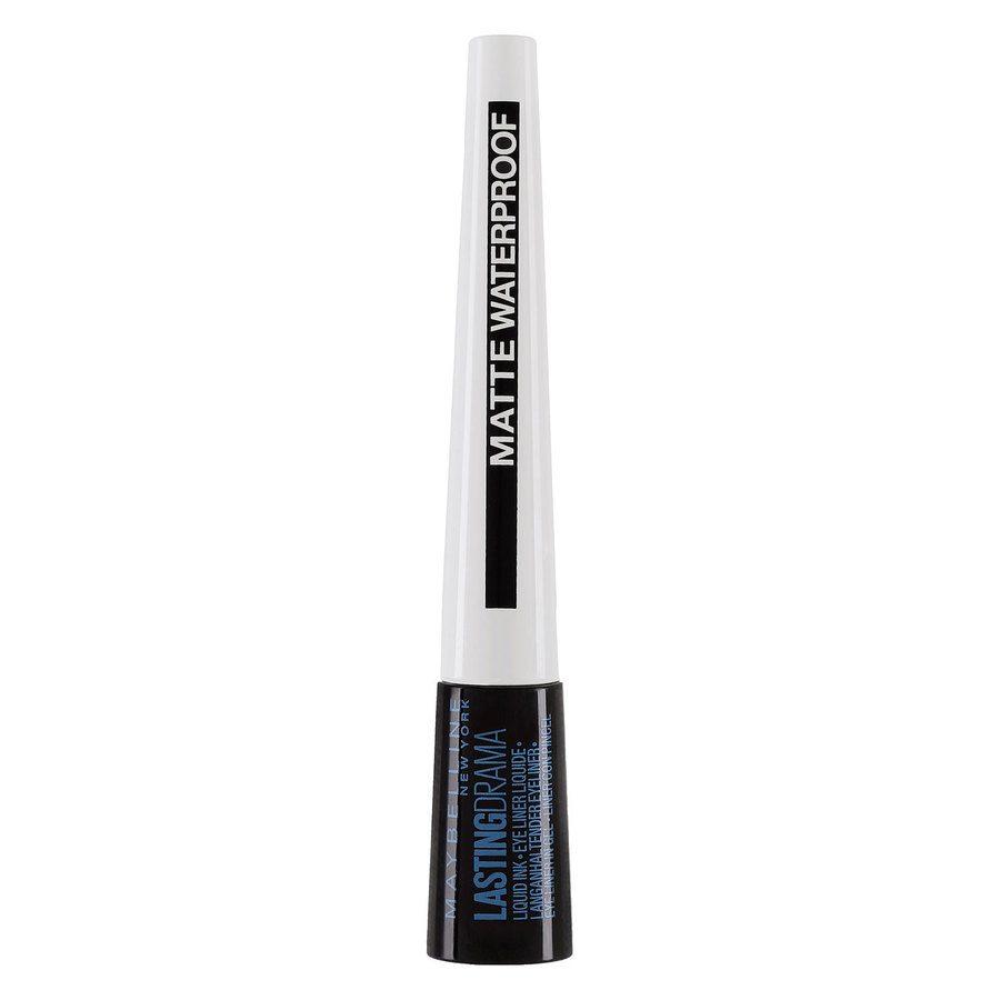 Maybelline Lasting Drama Liquid Ink Liner, Matte Waterproof Black (2,5 ml)