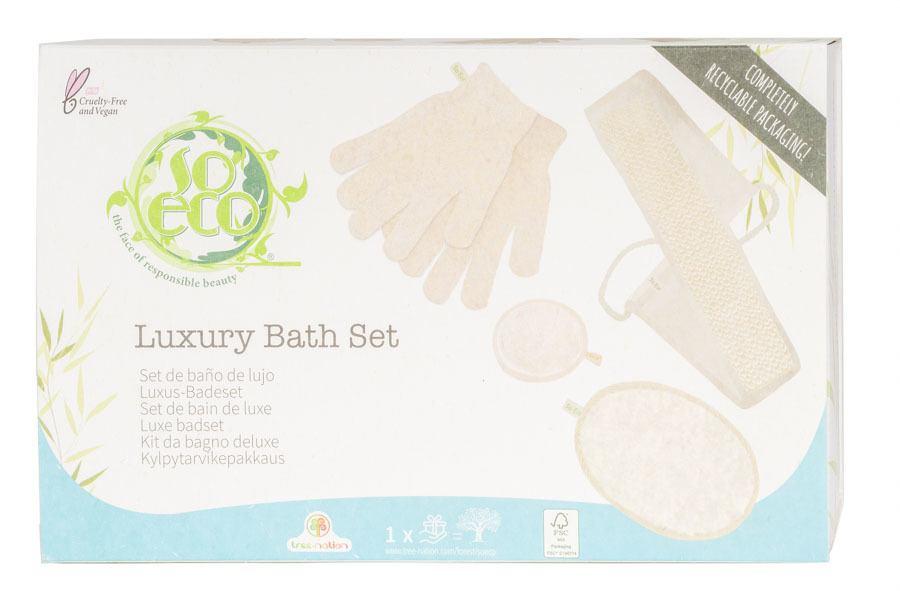 So Eco Luxury Bath Set 4 Teile