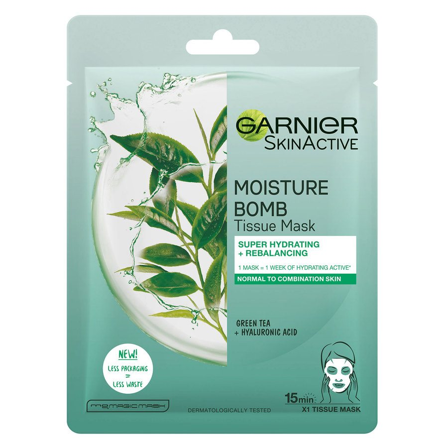 Garnier Tissue Mask Moisture Bomb Super-Hydrating Re-Balancing 28g