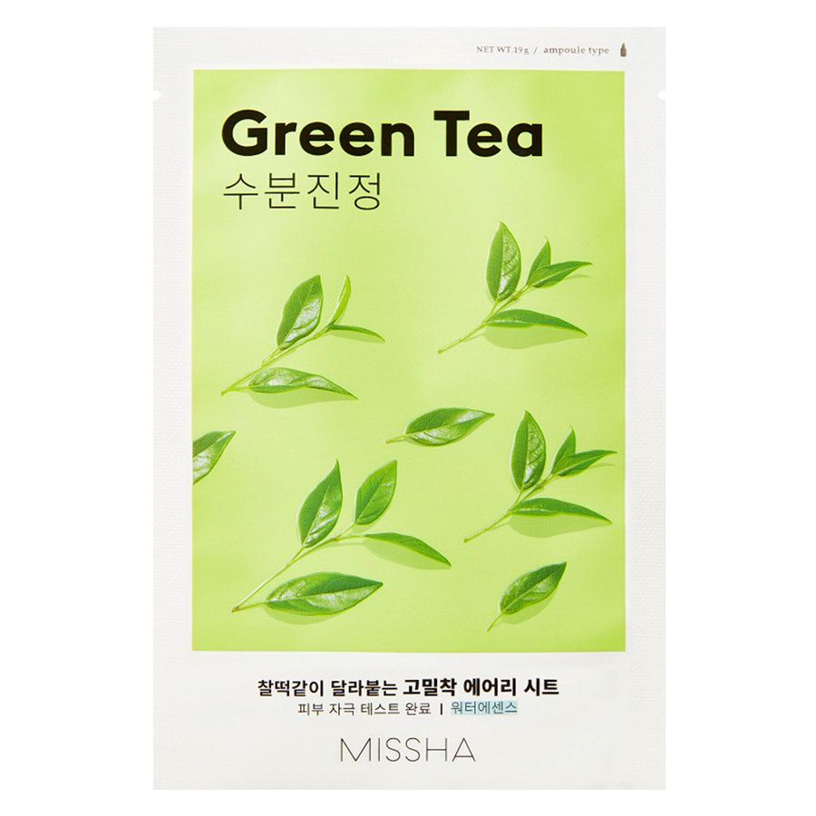 Missha Airy Fit Sheet Mask, Green Tea (19 g)