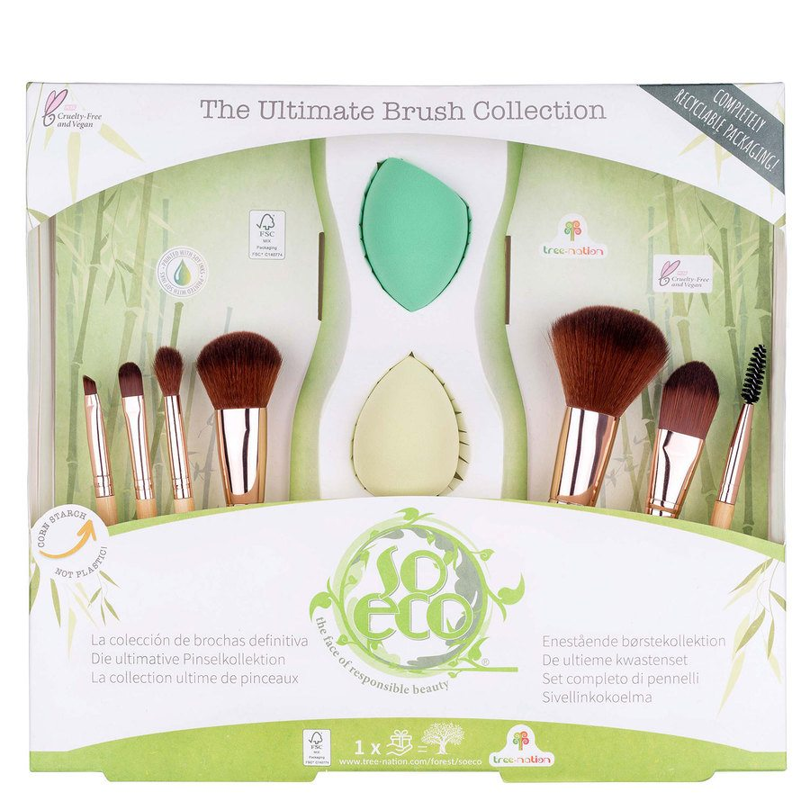 So Eco Ultimate Brush Collection (9-teiliges Set)