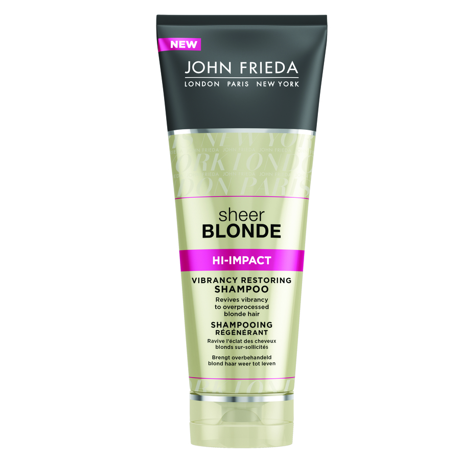 John Frieda Sheer Blonde Hi-Impact Vibrancy Restoring Shampoo (250 ml)