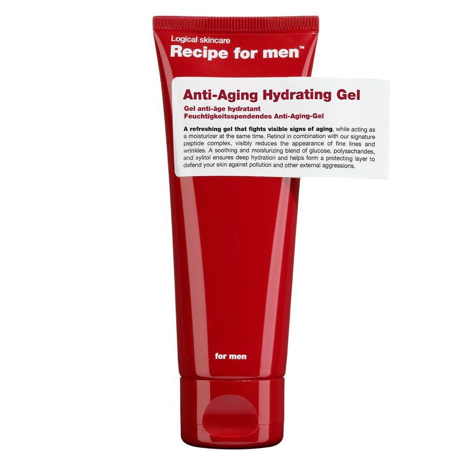 Recipe For Men Anti Aging Gel 75 ml