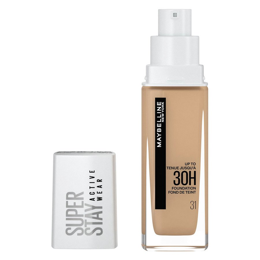 Maybelline 30H Superstay Active Wear Foundation, Warm nude 30 ml
