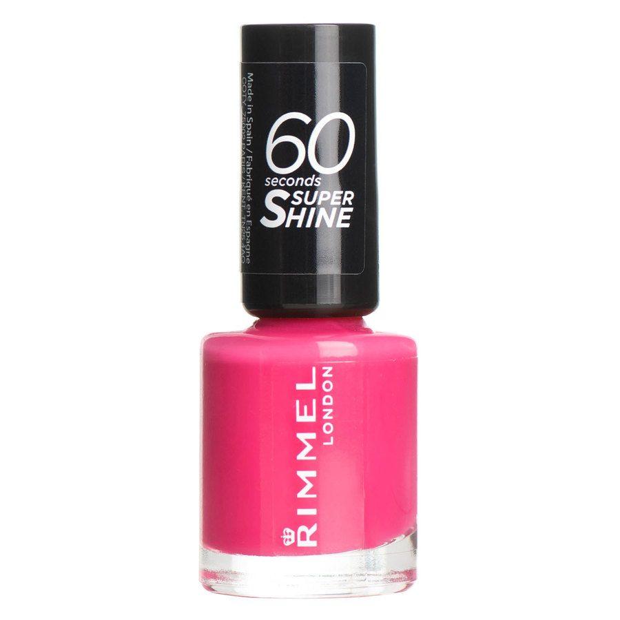Rimmel London 60 Seconds Super Shine Nail Polish, # 322 Neon Fe (8 ml)