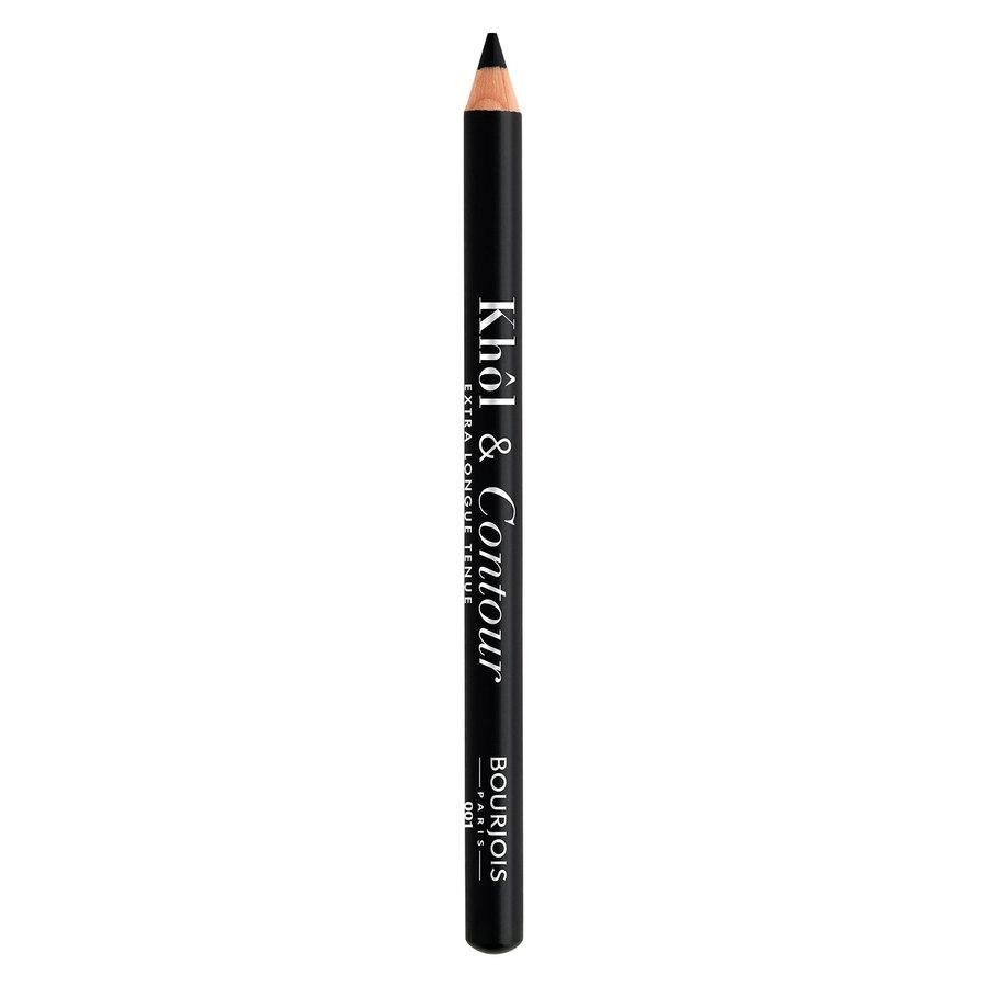 Bourjois Khôl & Contour Pencil, 01 Noir-Issime (1,2g)