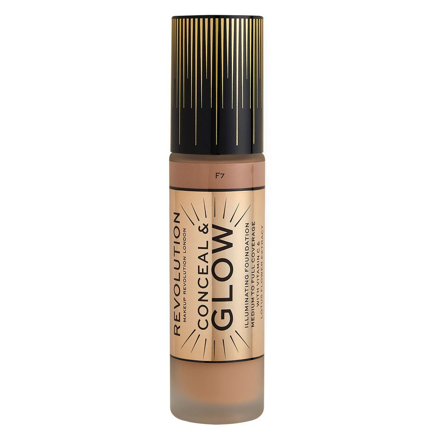 Makeup Revolution Conceal & Glow Foundation, F7 23 ml